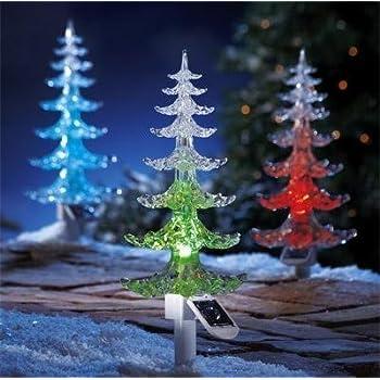 Garden mile® Large Solar powered Colour Changing LED Garden ...