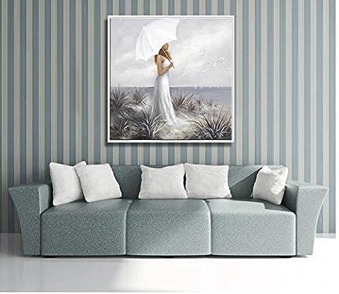 M?dchen Kind Hand Gemalt Malerei Wohnzimmer Sofa Hintergrund Dekoration Mode Schlafzimmer Wohnzimmer H?ngen Malerei