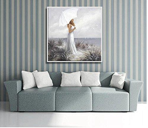 M?dchen Kind Hand Gemalt Malerei Wohnzimmer Sofa Hintergrund Dekoration  Mode Schlafzimmer Wohnzimmer H?