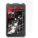 atFolix Samsung Galaxy Tab Active 8.0 (SM-T360) Panzerfolie - 2 x FX-Shock-Antireflex blendfreie stoßabsorbierende Panzerschutzfolie