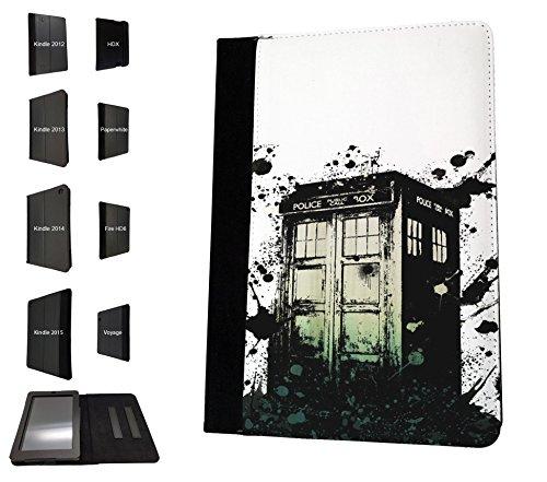 1699 - Doctor Who Art Graffiti Style Police Box Tardis
