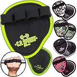 C.P. Sports Power Grips, Grip Pads, Griffpsds, Griffpolster Ideal für Bodybuilding & Kraftsport...