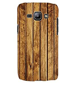 Colourcraft Wood Pattren Back Case Cover For Samsung Galaxy J1