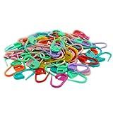 Lot de 100 marqueurs de points OnlineGroceryStore™ - Pour tricot et crochet - Verrouillage - FK