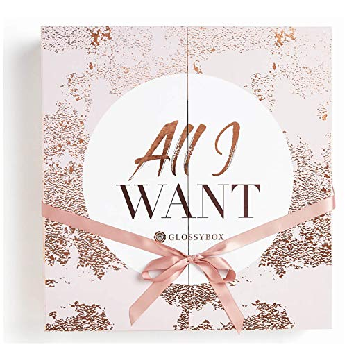 Glossybox Adventskalender 2018gefüllt mit 25 unserer Lieblings-Beauty-Produkte im Wert von über £300 (17 in full - Beliebteste Produkte