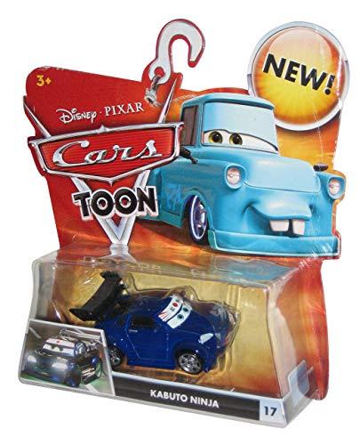 Disney Modell Cartoon mattel-cars Auto Toon 1/55Kabuto Ninja - Kabuto Cars