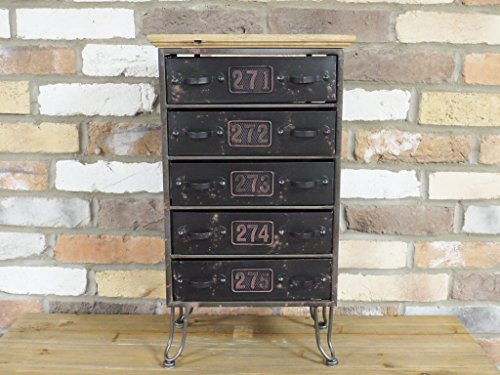 Urban Industrial Style Storage Filing Cabinet Drawers Home or Office