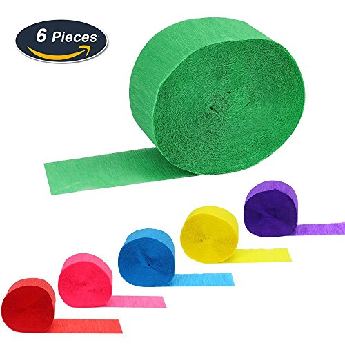 50cm x 250cm Light Green Alberts Large Crepe Paper