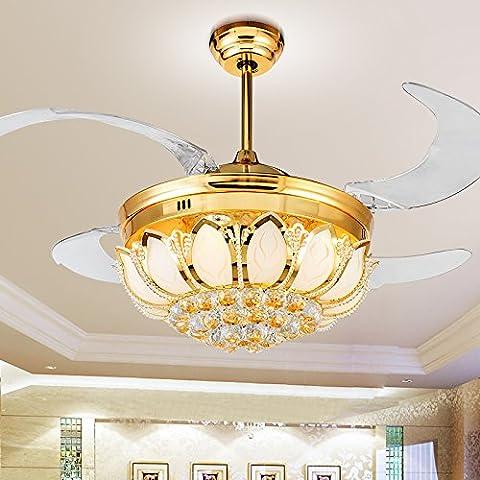 Crystal Ventilatore da soffitto American ventilatore invisibile