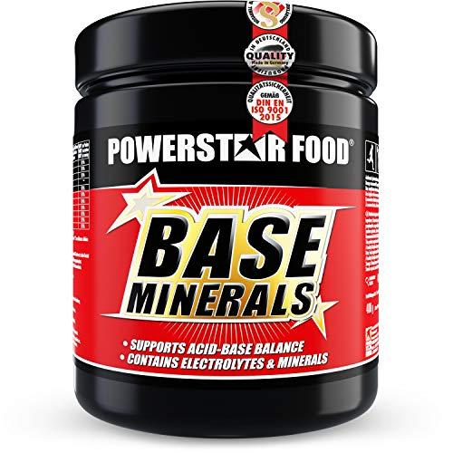 BASE MINERALS | 500g Basenpulver | Basische Mineralien | Organische Citrate | Für ausgeglichenen Säuren-Base-Haushalt & Elektrolytausgleich | 40-tägige Intensiv-Kur | Juicy Orange | Made in Germany