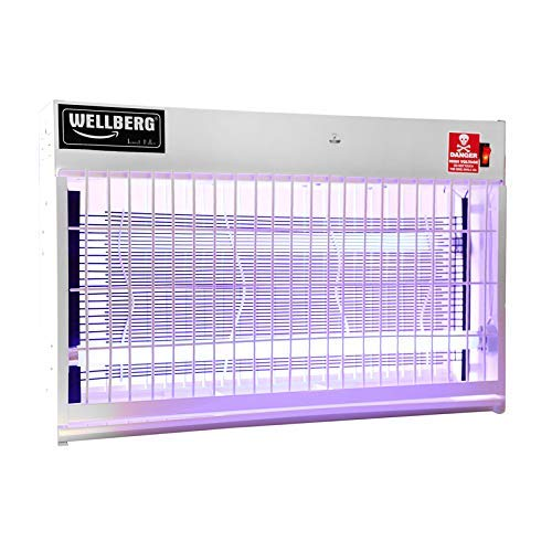 WELLBERG 40W Flying Insect Killer Machine with [1 Year ] UV Tube Insect Catcher Bug Zapper Repellent Machine Use in :Commercial, Office, Restaurant, Hospital, Factory, Canteen,Stores ETC