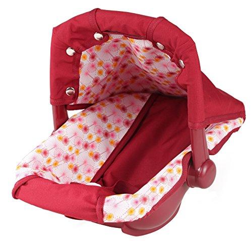 Götz 3401945 Puppen Babytrage & Autositz (36 x 40 x 29 cm) für alle Babypuppen von 30 cm bis 46 cm und Stehpuppen von 45 cm bis 50 cm
