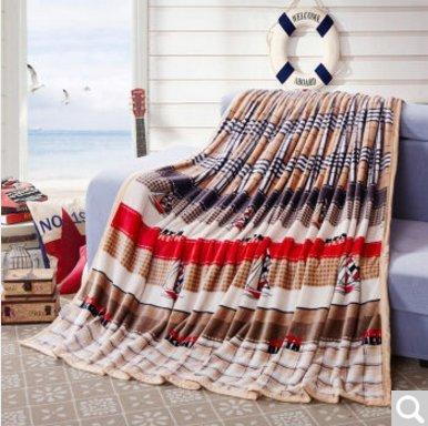 BDUK Dicke Frettchen fusselfreien Flansch 4. Quartal Flaum Decken Decken und Klimaanlage ,B1,180*200cm