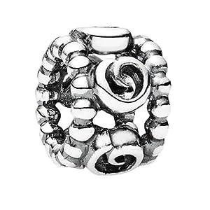Pandora Damen-Bead Zwischenelement Standard Rosen Sterlingsilber 790456