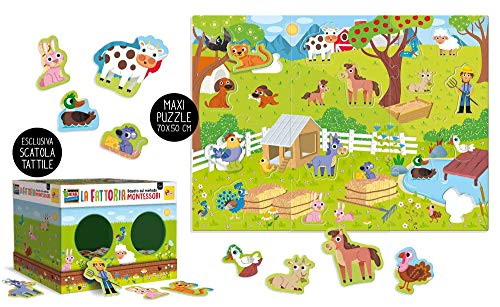 Multicolor Tombola t/áctil de Animales 72460 Lisciani Giochi