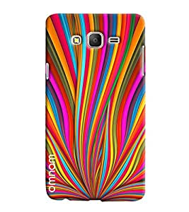 Omnam Coloful Stripes Art Printed Designer Back Cover Case For Samsung Galaxy On 7