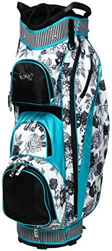 GloveIt GB246 Golftasche, Schwarz/Weiß