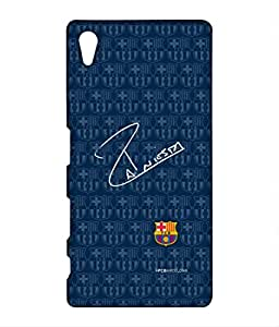 Block Print Company AUTOGRAPH INIESTA Phone Cover for Sony Z5