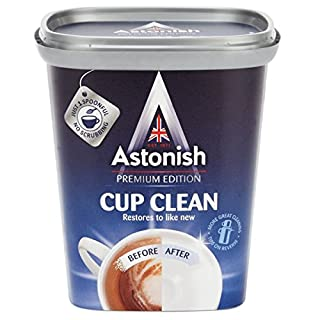 2 x Astonish Tea and Coffee Stain Remover 350g for Flasks Mugs and Cups