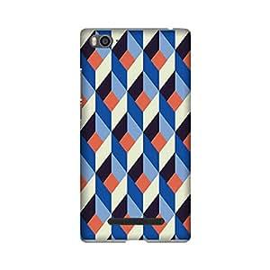 Abaci designed Xiaomi Redmi Mi4i Mobile Back cover with Perfect Matte finishing and Motif Pattern design(Multicolor)