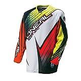 O 'Neal Hardwear Jersey Race Flow Naranja Amarillo Rojo Motocross Enduro Cross Moto Camiseta Camiseta, 0027h de 10, small