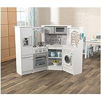 KidKraft 53386 Ultimate Corner Play Kitchen-White-Exclusive