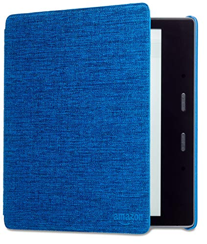 Kindle Oasis (9th and 10th Gen) Water-Safe Fabric Amazon Cover, Blue