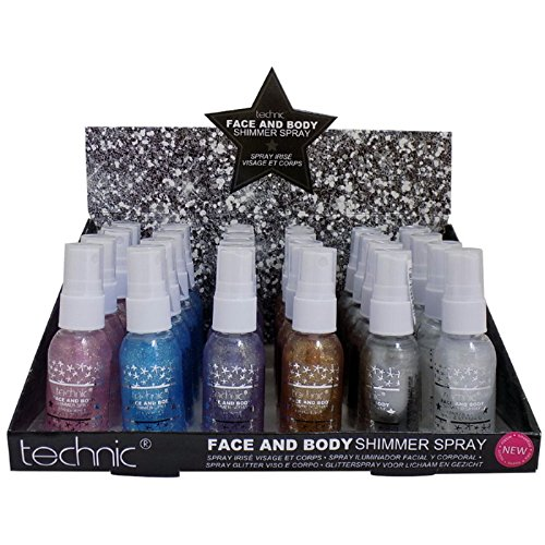 technic-face-body-glitter-shimmer-spray-choose-your-shade-fast-delivery