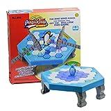 AMMBER Puzzle Mini Tischspiele Spielzeug, Desktop Klopfen Eis Pinguin Trap Balance Eiswürfel Sparen Pinguin Eisbrecher Spiel, Kinder früh pädagogischen interaktiven Spielzeug (ABS, A)