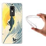 Elephone S3 Hülle, WoowCase Handyhülle Silikon für [