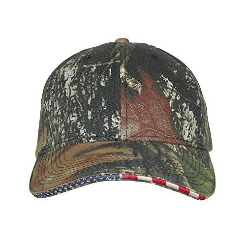 CTM Mossy Oak Unterbrechung Camo American Flag Baseball Hat Gr. One size, Mossy Oak (Flag Camo)