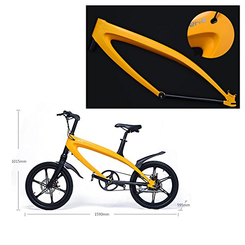 51Mk3GhSGBL. SS500  - GTYW Electric Bicycle Mountain Bicycle City Fashion Simple Moped Removable Lithium Smart -Built-in Bluetooth Stereo Mountain Bike