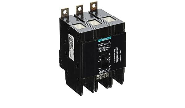 HI Siemens BQD390 90-Amp Three Pole 480Y//277V AC 14KAIC Bolt in Breaker Siemens
