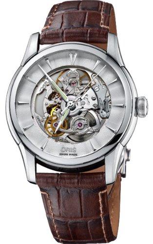Oris Artelier scheletro orologio da uomo 73476704051LS