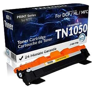 N.T.T.® 1x XL cartucci de toner compatibile per Brother TN-1050 nero per DCP 1510 1512 1601 1610 1612 1616 HL 1110 1112 1201 1210 1211 1212 MFC 1810 1815 1910 1915