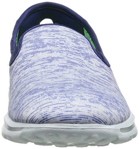 Skechers Performance-Go-Weg Vivid Slip-on Walking-Schuh Blue/White