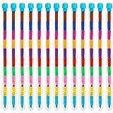 THE TWIDDLERS 36 Lápices de Punta Intercambiable - 11 Colores Distintos - Ideales como Detalles de Fiesta, Rellenos para Bolsas de Fiesta, Cajas de sorpresas, etc.