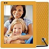 Nixplay Seed 25,4 cm (10 Zoll) WLAN Digitaler Bilderrahmen, Bewegungssensor und Fernbedienung - Mango - Perfekt als Geschenk!