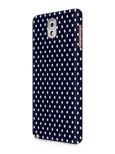 Cover-Affair-Polka-Dots-Printed-Designer-Slim-Light-Weight-Back-Cover-Case-for-Samsung-Galaxy-Note-3-Black-White