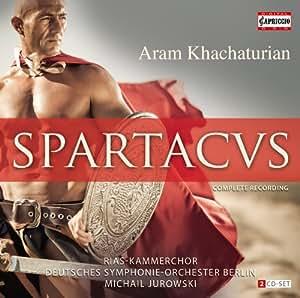 Khachaturian: Spartacus (Complete Recording) (Capriccio: C5112)