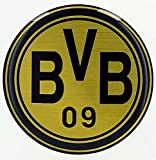 Unbekannt BVB Borussia Dortmund 3D-Aufkleber Retro