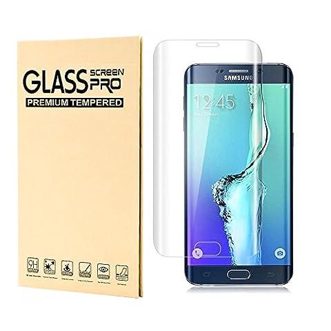 Samsung Galaxy S6 Edge Schutzfolie gehärtetem Glas,Jjing Anti-Fingerabdruck,3D Touch Kompatibel,3D