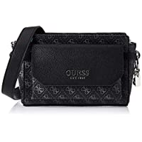 GUESS Women's Cross-Body Handbag, Coal - SY758214
