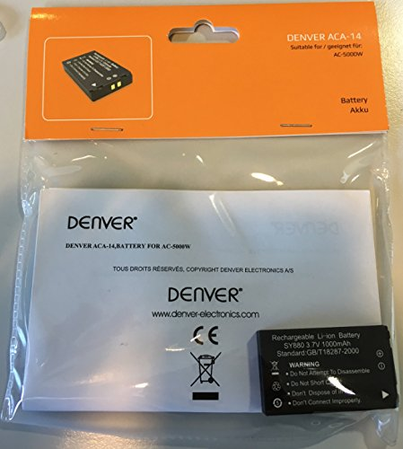 Denver ACA-14 Batteria per Actioncam AC-5000W