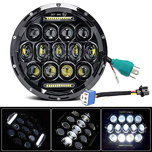 Automobiles & Motorcycles Car Lights Modest 50w Round H4 7 Inch Led Headlight For Jeep Wrangler Jk Tj Lj Sahara Rubicon Sport Unlimited Hummer H1 H2 Headlight 7 Led
