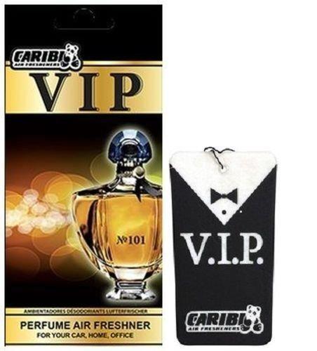 Preisvergleich Produktbild 5 x caribi VIP Auto, Zuhause oder Büro Lufterfrischer mit Parfume Duft von & 101 - Calvin Klein Euphoria Herren