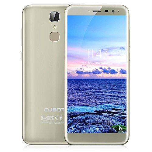 zeepin CUBOT X18 Smartphone 4G Androide 7 0 IPS DE 5 7  3GB   32GB C  mara 13   16MP Bluetooth 4 0 Sensor de la Huella Digital C  mara Trasera Dual  R