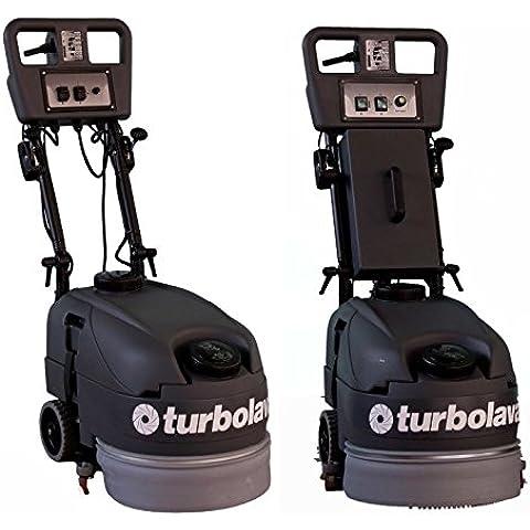 350 scrubber CIMEL Turbo Lava per terra emotiontextiles - elettrico o a batteria, heliobil: funzionamento a batteria
