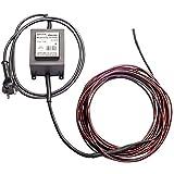 electra-Therm 12V Heizkabel inklusive Sicherheits-Transformator   7,90m lang   schützt bis -35°C   Frostschutz Kabelheizung Rohrbegleitheizung Sicherheits-Heizkabel
