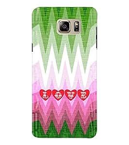 EPICCASE funky love Mobile Back Case Cover For Samsung Note 6 (Designer Case)